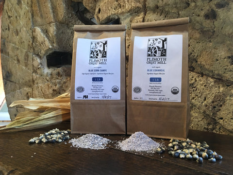Plimoth Grist Mill Heritage Blue Corn Cornmeal