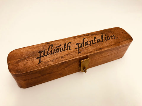 Plimoth Plantation Single Pen Wooden Box