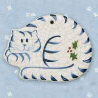 Cat Curled Up Ornament