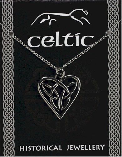 Celtic Interlaced Heart Pendant