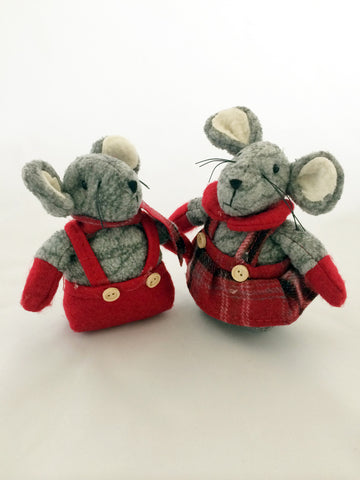 Christmas Mice Ornament