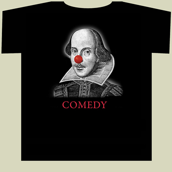 Shakespeare Clown T-shirt