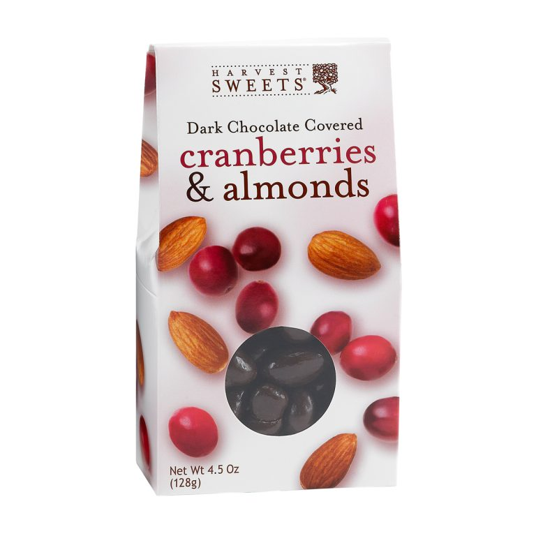 Dark Chocolate Covered Cranberries & Almonds