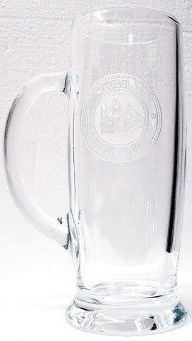 Etched Mayflower Beer Stein