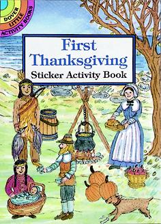 First Thanksgiving Sticker Activity Book