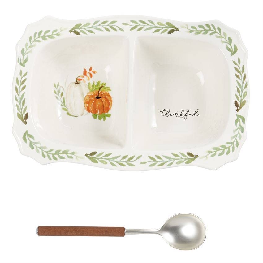 Gather Large Side Dish Server Set