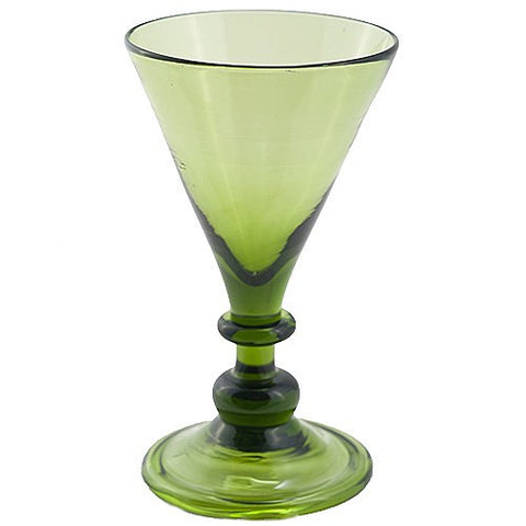 Green Beer Glass