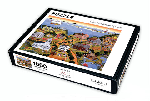 Historic Plymouth Marie E. Fox, 1987, Puzzle