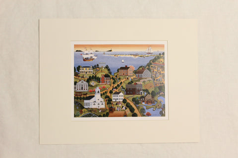 Historic Plymouth Marie E. Fox, 1987, Prints