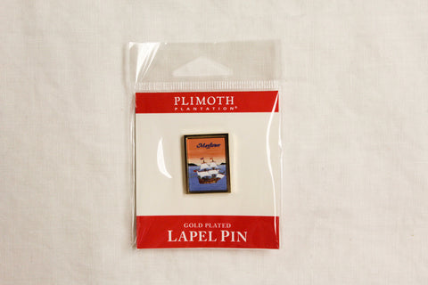 Historic Plymouth Marie E. Fox, 1987, Lapel Pin