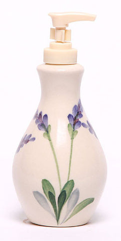 Lavender Soap Dispenser