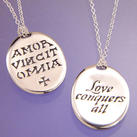 Amor vincit omnia (Love Conquers All)