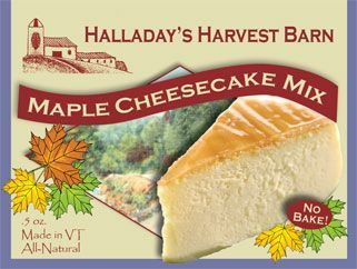 Maple Cheesecake Mix