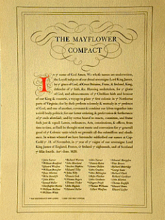 Mayflower Compact Poster
