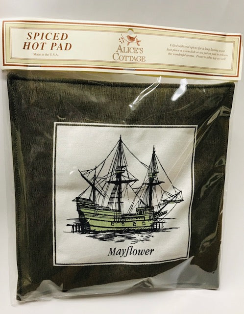 Mayflower Spiced Hot Pad