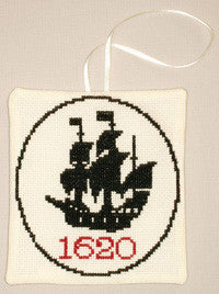 Mayflower 1620 Counted Cross Stitch Ornament Kit