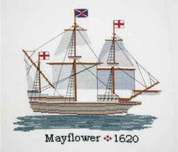 Mayflower Counted Cross Stitch Kit