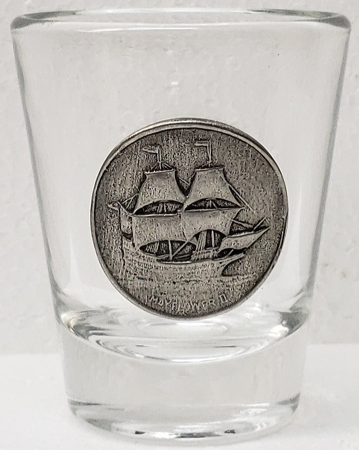 Mayflower II Shot Glass