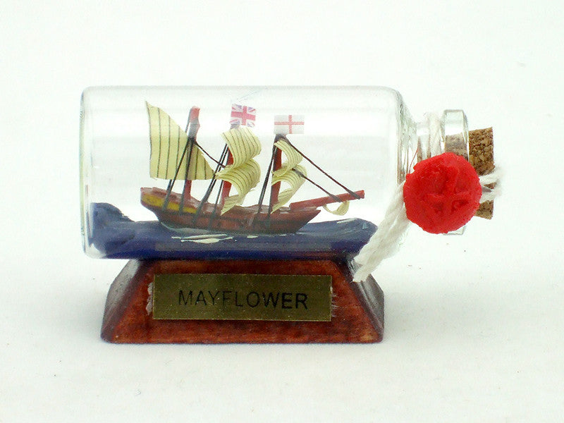 Mayflower Ship In A Bottle