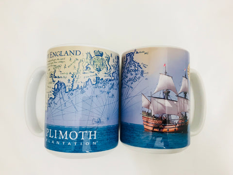 Mayflower / John Smith Map Mug