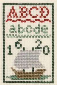 Mayflower Miniature Sampler Counted Cross Stitch Kit