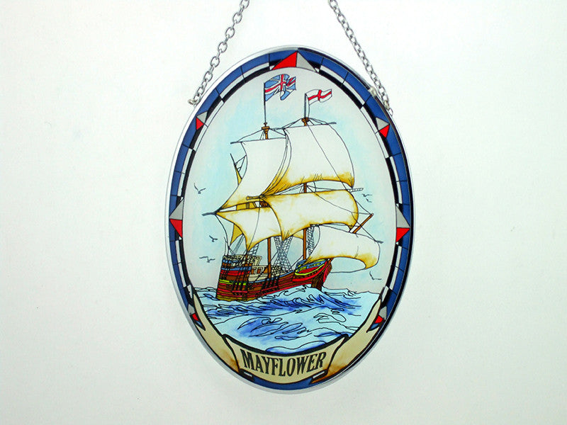 Mayflower Painted Glass