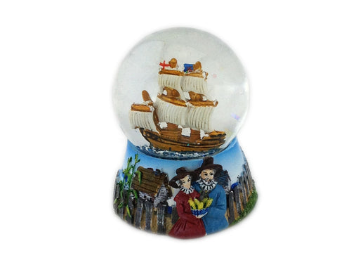 Mayflower Snow Globe