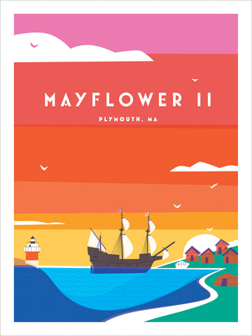 Mayflower II Vinnie Arnone Print