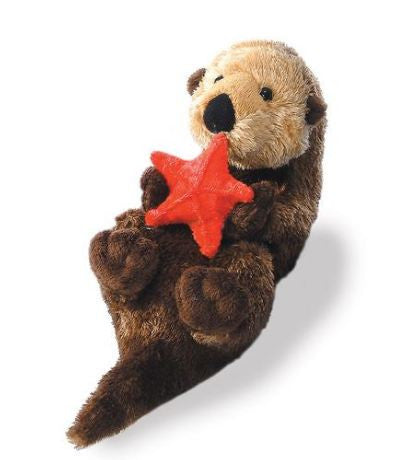 Otter with Starfish