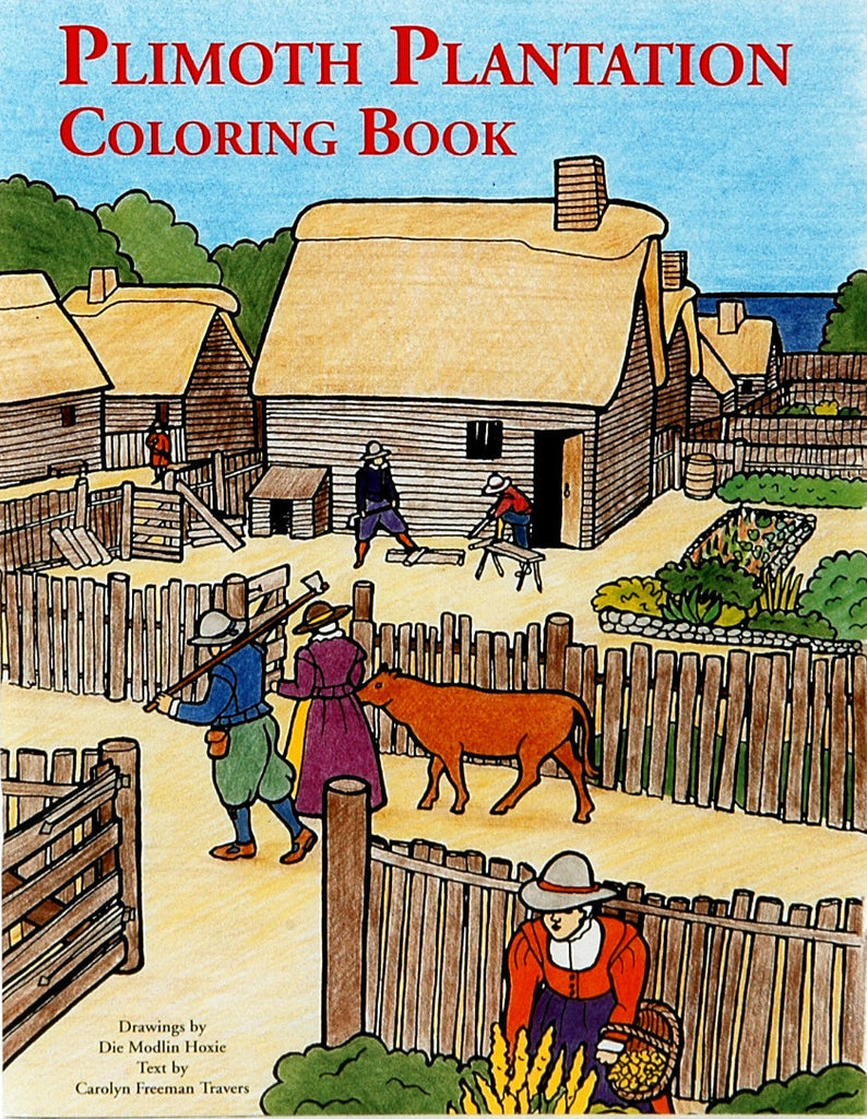 Plimoth Plantation Coloring Book