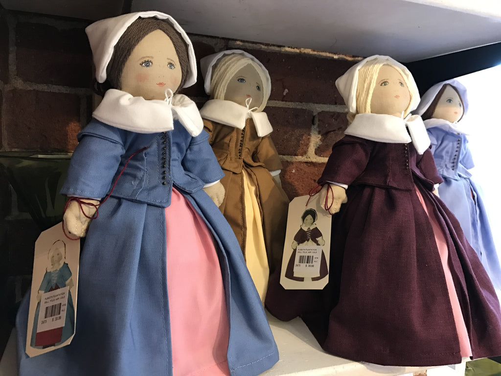 Pilgrim Woman Doll