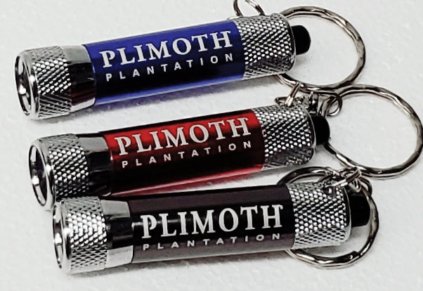 Plimoth Plantation LED Flashlight Keychain