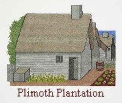 Plimoth Village Counted Cross Stitch Kit