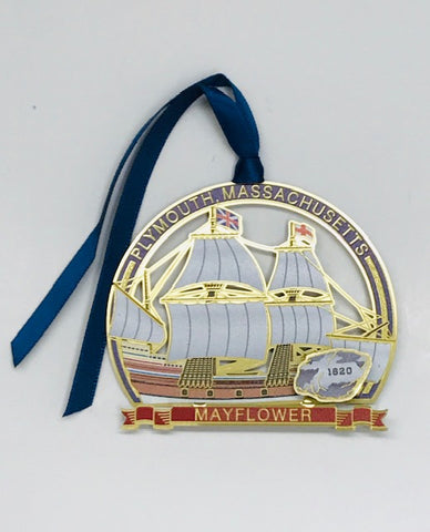 Plymouth, Massachusetts Mayflower Ornament