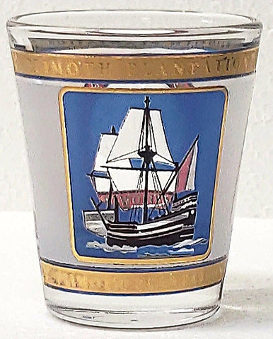Porthole Mayflower Shot Glass
