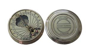 Antiqued Sundial with Lid