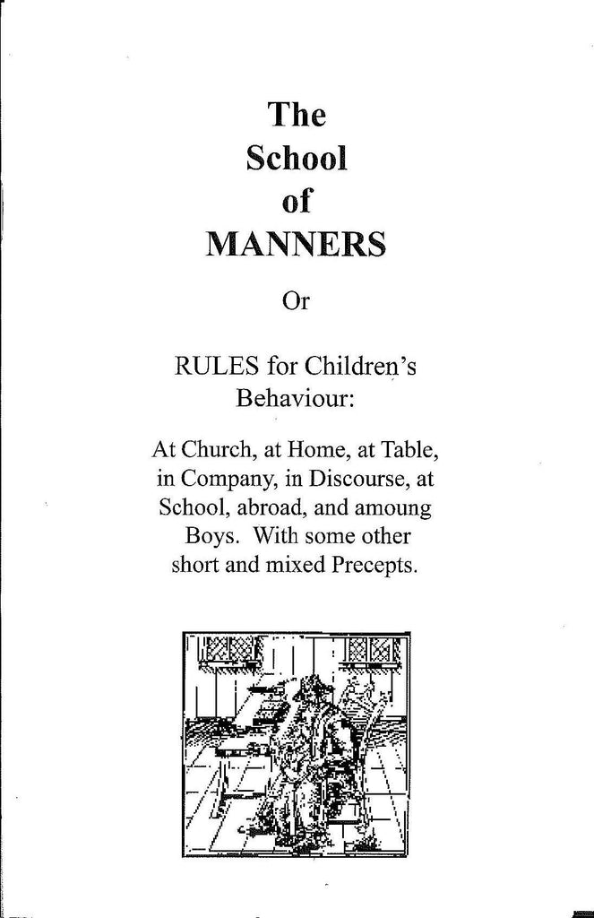 School of Manners