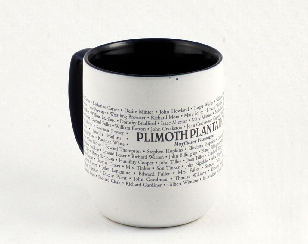 Mayflower Passenger List Mug