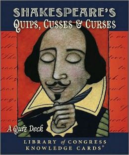 Shakespeares Quips, Cusses & Curses Knowledge Card Deck