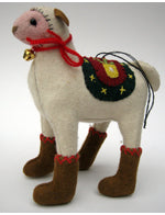 Sheep Felt Ornament