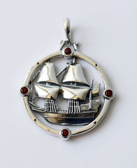 The Mayflower Compass Pendant