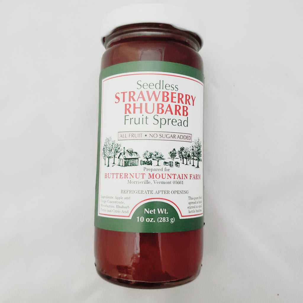 Strawberry Rhubarb Fruit Spread