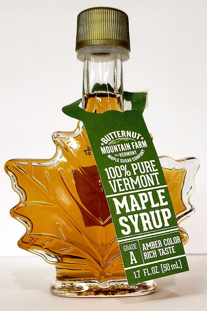 Vermont Maple Syrup Leaf