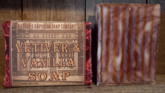 Vetiver & Vanilla Soap