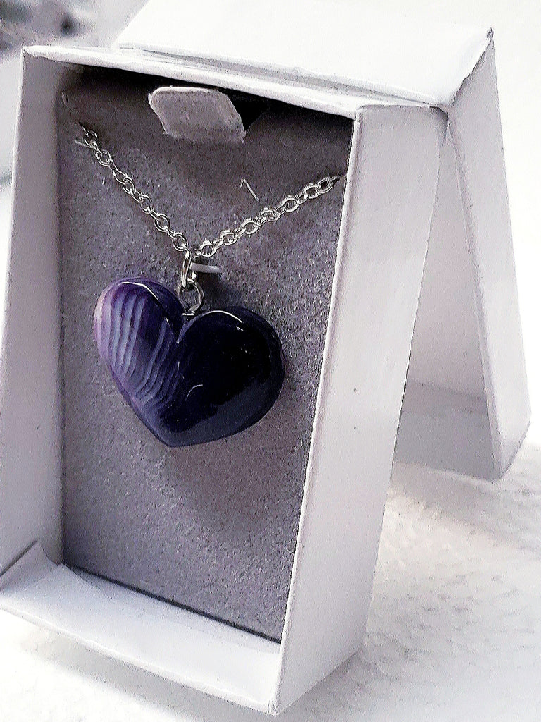 Wampum Heart Necklace