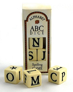 ABC Dice Spelling Game