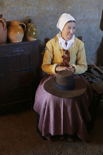 Ladies Linen Coif Plimoth Plantation Museum Shop