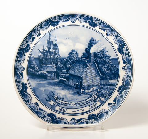 400th Anniversary Commemorative Delft Plate