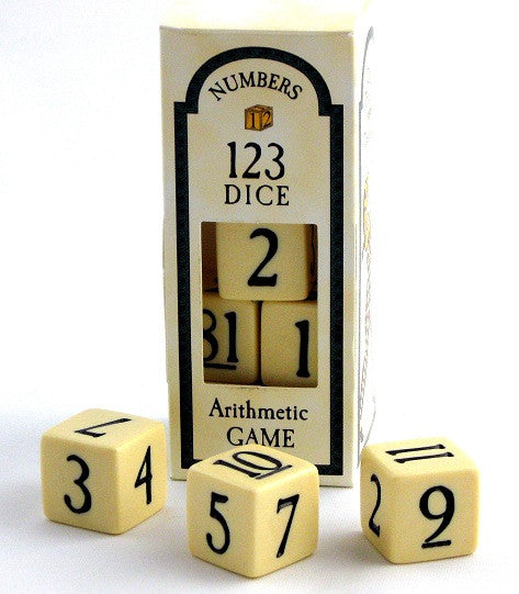 123 Arithmetic Dice Game