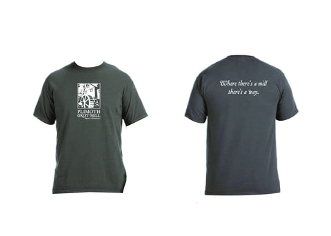 "Plimoth Grist Mill ""Where There's A Mill There's A Way"" T-shirt"